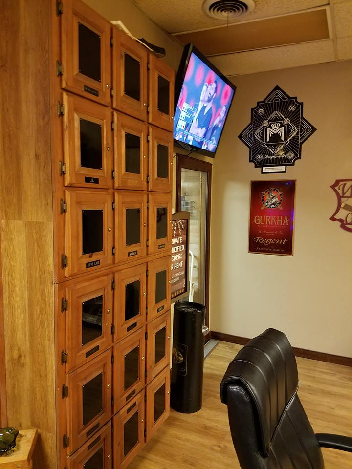 Private Lockers at Ft Worth Lone Star Cigars