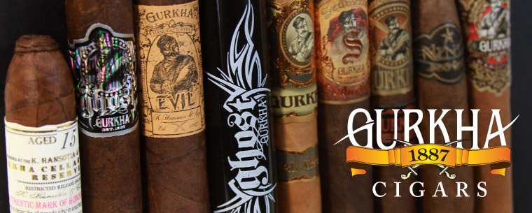 Gurkha Cigars in stock