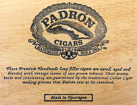 Padron Cigars at Ft Worth Lone Star Cigars